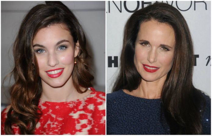 Rainey Qualley a Andie MacDowell