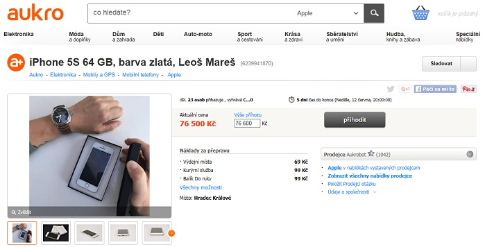 Leos Mares iPhone
