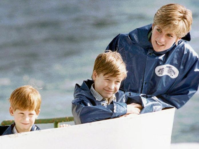 diana a harry a william