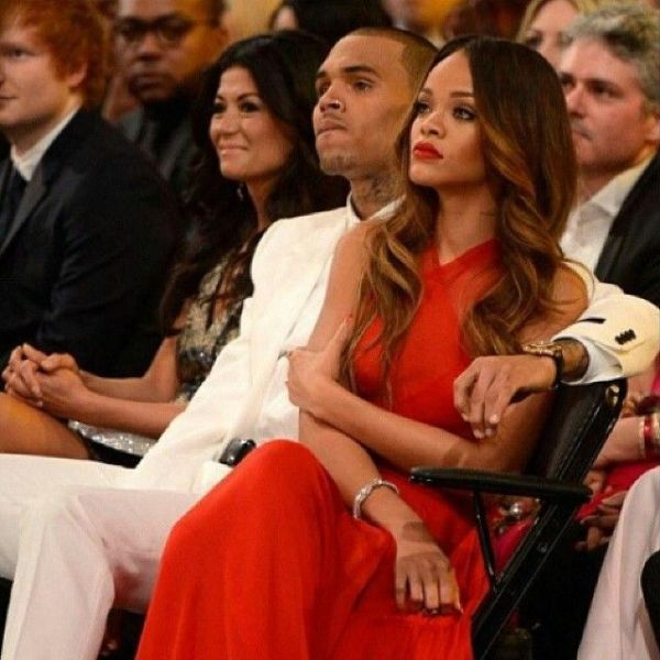 Chris Brown Rihanna grammy