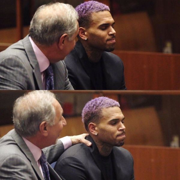Chris Brown odsudeny za utok na Rihannu