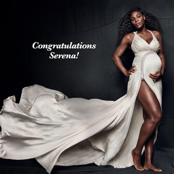 Beyonce Serena Williams gratulacia na insatgrame